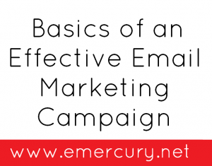 starting an effective email marketing campaign