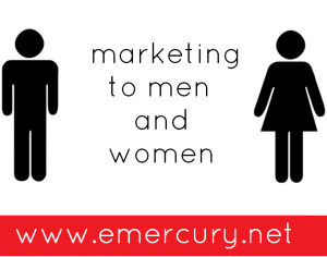 Difference between marketing to men and women