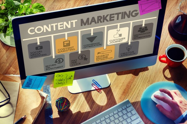 Content Marketing preceeds email marketing