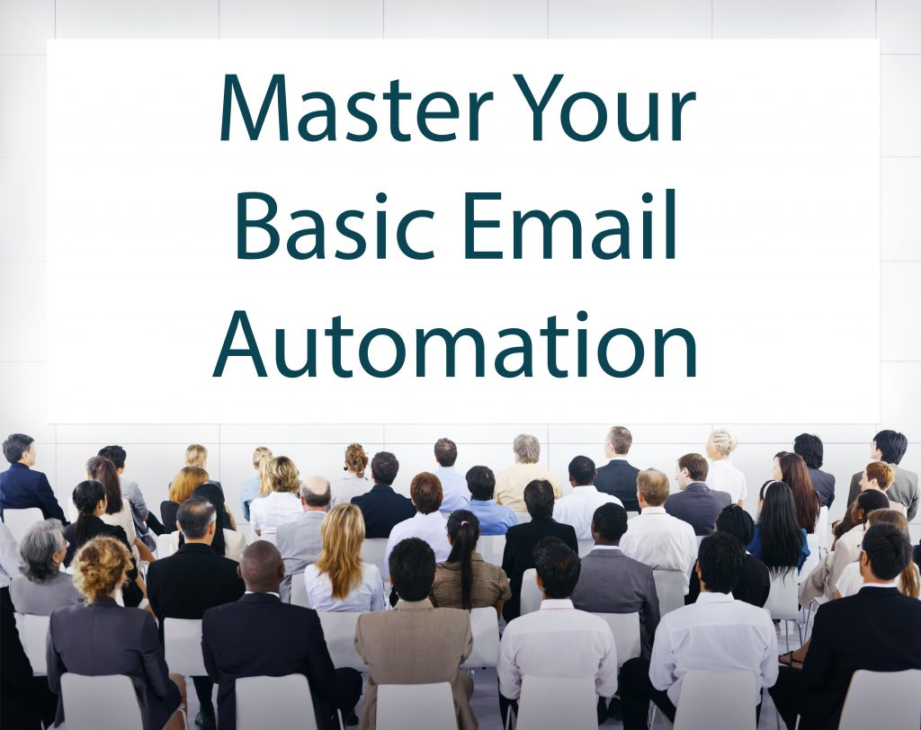 Group Of Business People Sitting And Looking At Command to Master Basic Email Automation