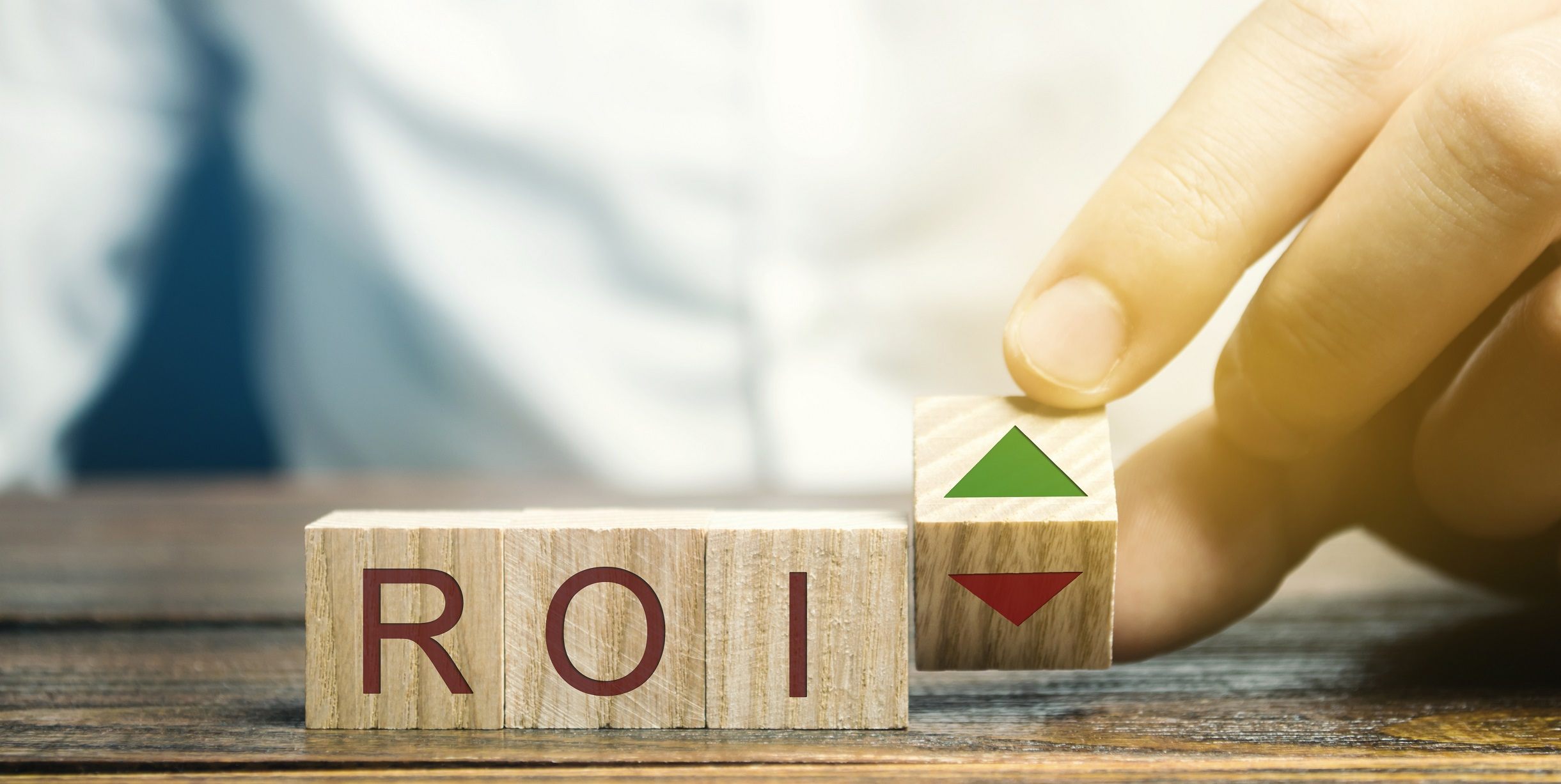 ROI on wooden blocks